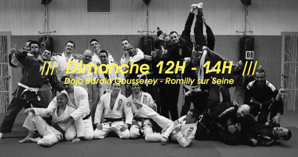 Grappling Troyes Association - Jiu Jitsu Brésilien Romilly-sur-Seine Aube